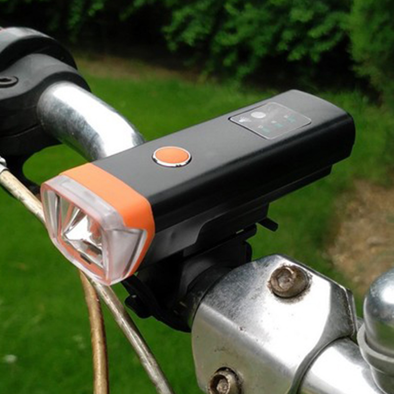 Bicycle Headlight Bike Handlebar Lamp USB Charge Torch Cycling Front Light 350Lumen