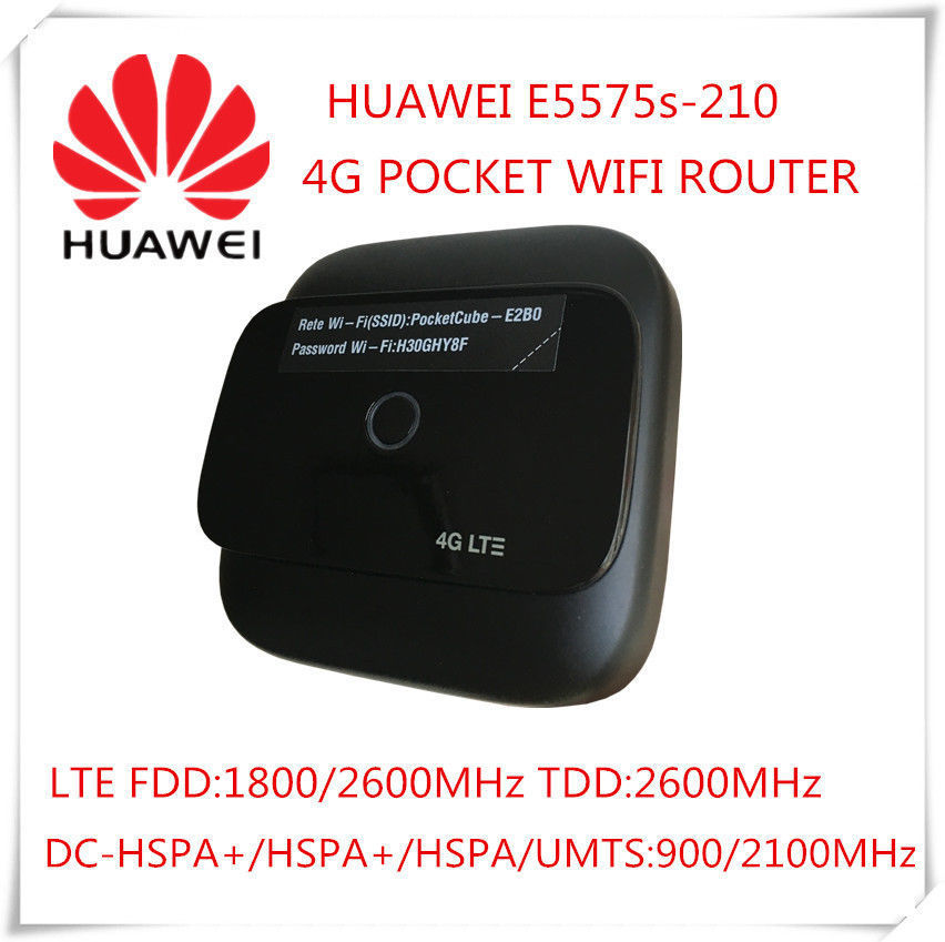 Huawei portable wifi hotspot E5575 support fdd 1800/2600MHZ and tdd2600 4G 3G modem router free shipping g4 fdd tdd 150m portable 4g lte wifi router