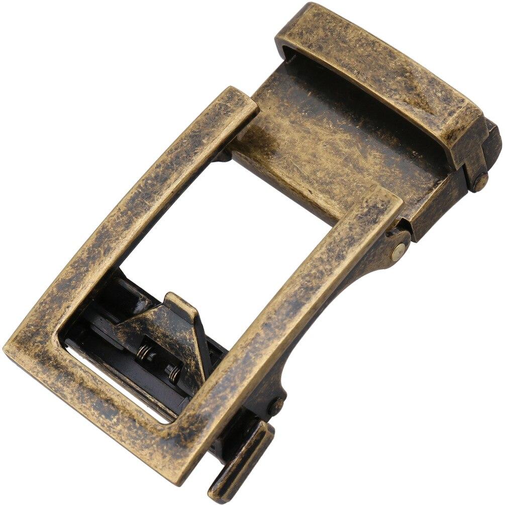 3.0-3.1Cm Width Automatic Belt Buckle Head Luxury Brand Retro Hollow Out Waist Belt Metallic Buckle For Men LY33-21601