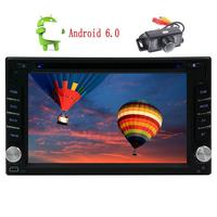 2din GPS Car DVD Player Android6 0 Stereo Din HD Capacitive Screen GPS Navigation Bluetooth Head