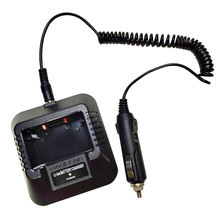 Walkie Talkie Car Charger Cable For Baofeng UV-5R UV-5RE 5RA Radio Charger Dock Cigarette Lighter Slot 12V DC Power Charge Wire