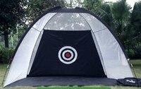 3m Large Size Indoor Golf Practice Net Swing Trainer Rod Net Cage