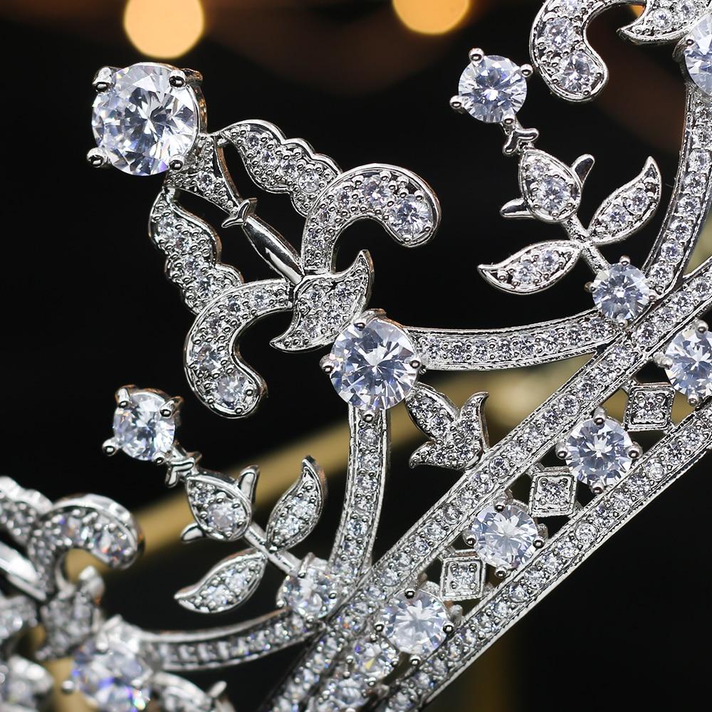 Accesorios de la novia de la Corona de Thiago de cristal del Rin de moda de lujo A00182-in Joyería para el cabello from Joyería y accesorios    2