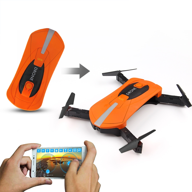 JY018 ELFIE WiFi FPV Quadcopter Mini Foldable Selfie Drone RC Drone with 2MP Camera HD FPV Professional H37 720P RC Helicopters