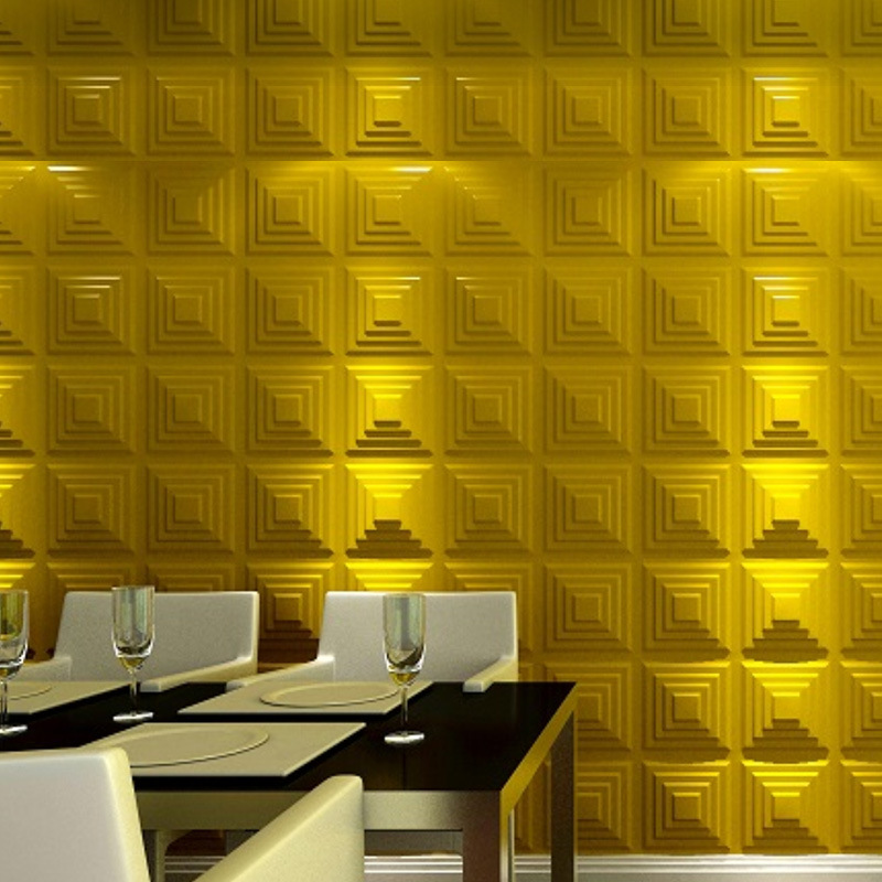 Simple modern foam wall sticker soft decorative materials 3D background Self adhesiveg wallpaper PE waterproof