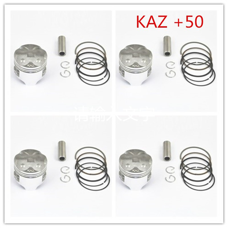 Motorcycle Engine Parts +50 Cylinder Bore Size 49mm Piston