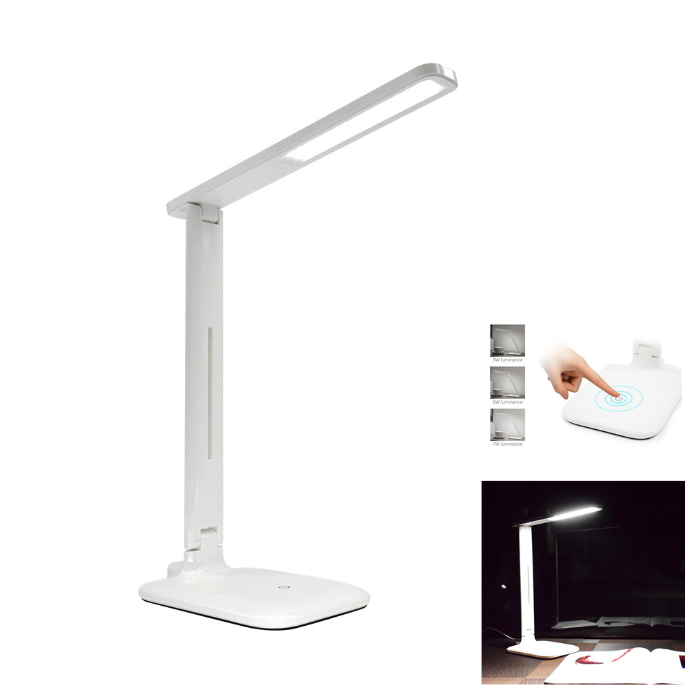 Table Lamp Desk Table Light led Desk Lamps Flexo Flexible Lamp Office Bureaulamp 42LED Eye care Rechargeable For Reading