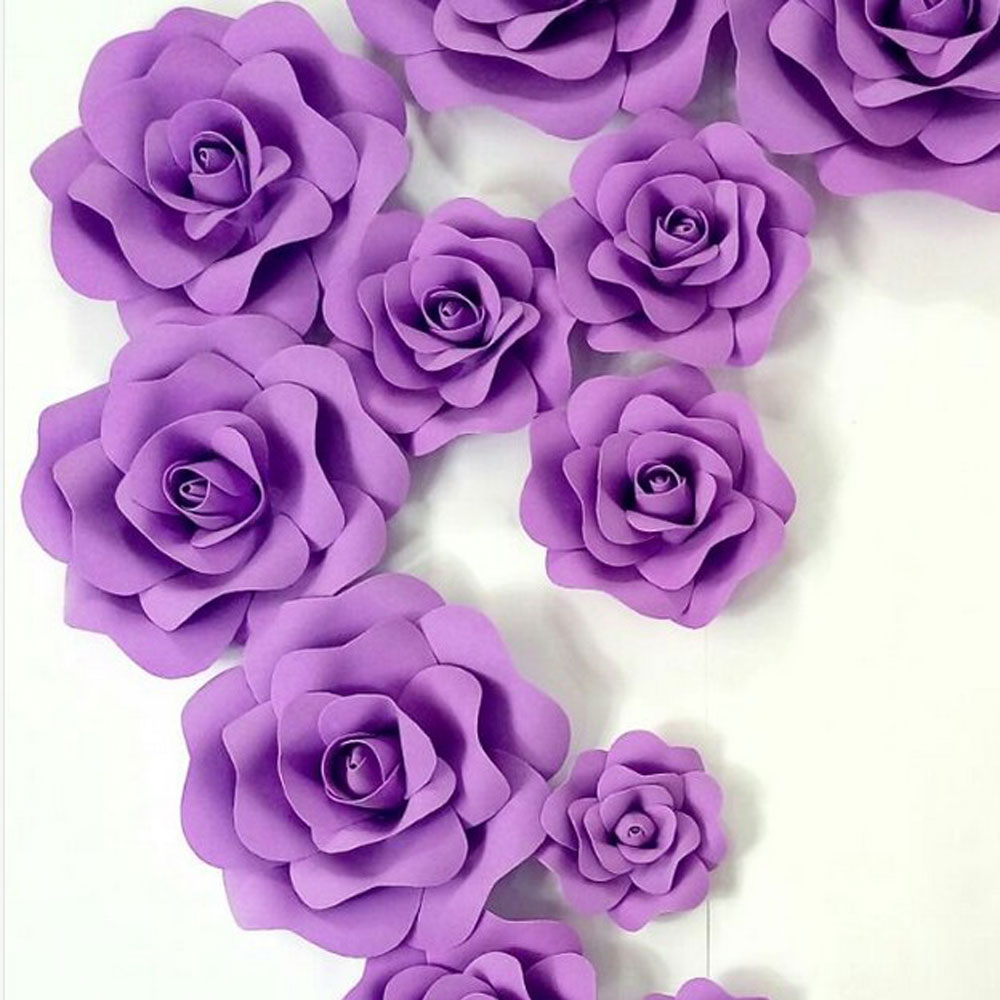 бумажные цветы на стену своими руками шаблоны этого бренда привлекают