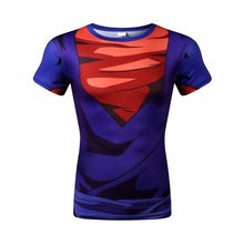 2016 brand New dragonball super messiah who fashionable compression tight t-shirts short sleeve T-shirt free shipping