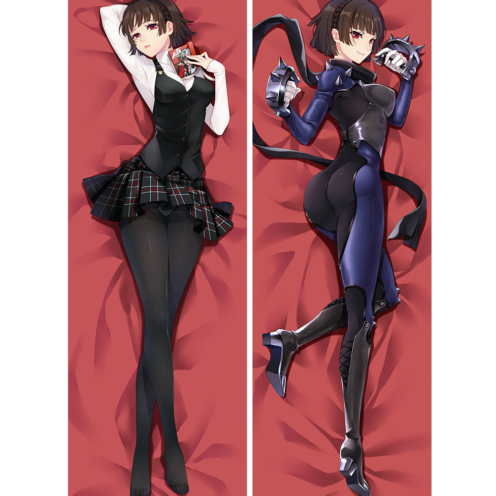 Anime Persona 5 Bedding Otaku Hugging Gift Dakimakura Pillow Case 35×55cm #X47