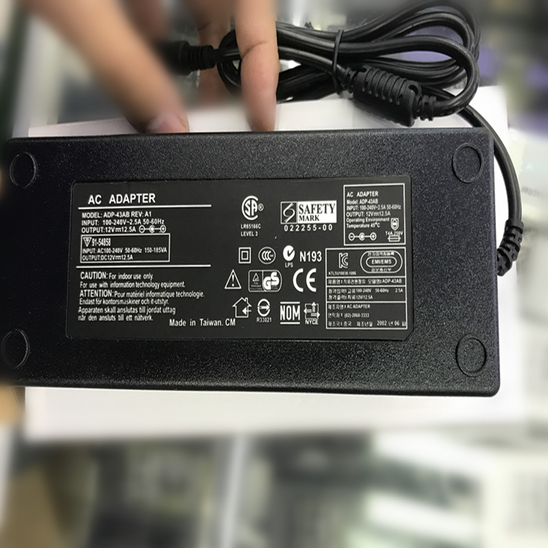Adaptador de corriente CA DC 12 V 12.5A 5,5 w Salida 150mm x 2,5mm enchufe DC-ATX W para PICO BOX 150 PSU HTPC Mini PC de alta calidad