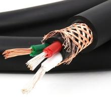 Hifi audio Silber Überzogene OFC power kabel für DIY EU/UK/US power kabel