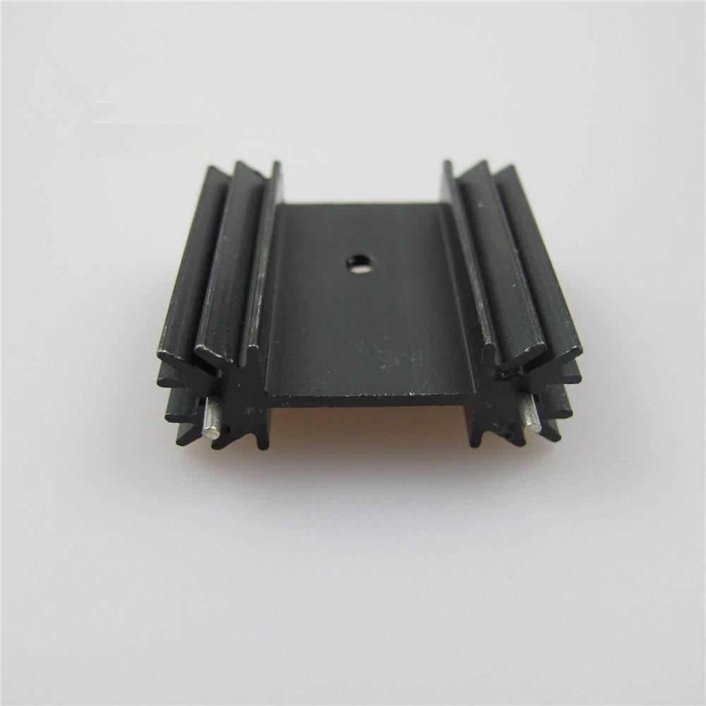 Di alta qualità in alluminio 45*45*10mm Heatsink Dissipatore Di Calore Radiatore IC Blocco di raffreddamento