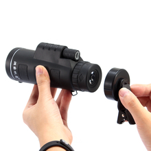 Discount! New Arrival Universal 10×40 Hiking Concert Camera Lens  Zoom Smartphone Telescope Camera Lens Phone Holder For Phone
