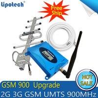 Бесплатная доставка обновление GSM 900 МГц, репитер/ретранслятор сигнала 2G Мобильный Сотовый усилитель сигнала GSM 900 Усилитель сотового телефо...