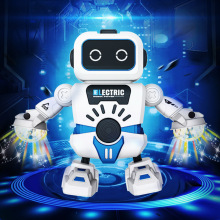 Robot toy model dancing electric children's toy new space dancing robot new 360 degree rotation smart space electric robot dancing music light toy children gift sell hotting