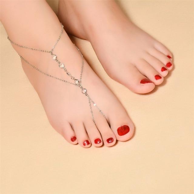Fashion Boho Anklets Bracelets for Women Barefoot Sandals Foot Jewelry  Ankle Bracelet Chaine Cheville Pulseras Tobilleras edb6ad13a7bd
