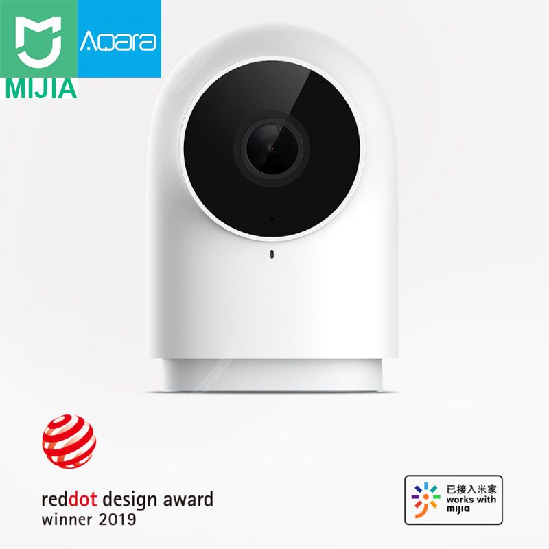 In Stock New Xiaomi Aqara Smart Network G2 Camera Gatway Edition 1080p 140 Wide Angle Night Vision Zigbee Version Wifi IP Camera