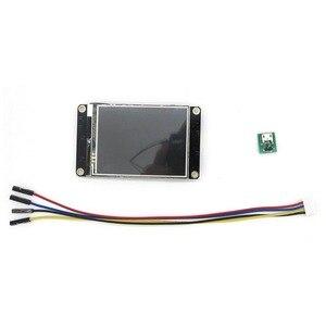 "Image 2 - 2.8 ""Nextion משופר HMI אינטליגנטי חכם USART UART סידורי מגע TFT LCD מודול לוח תצוגת פטל Pi uno r3 מגה"
