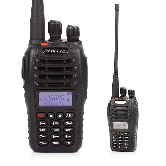 BaoFeng UV-B5 Radio bidirectionnelle, double bande UHF/VHF 136-174/400-470 MHz + antenne gratuite