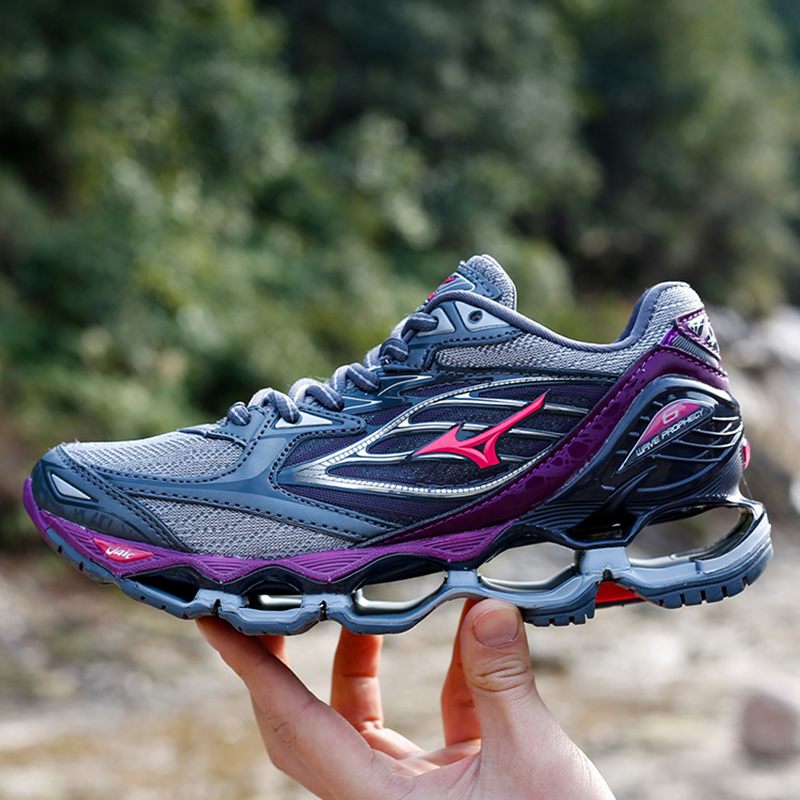 Mizuno Running Shoes Mizuno Wave Prophecy 7 Professional Women Shoes Outdoor Stable Sports WeightLifting Shoes Sneakers 36-41