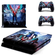 Devil May Cry 5 PS4 Vinyl Skin Sticker Cover for Playstation 4 System Console and Two Controllers