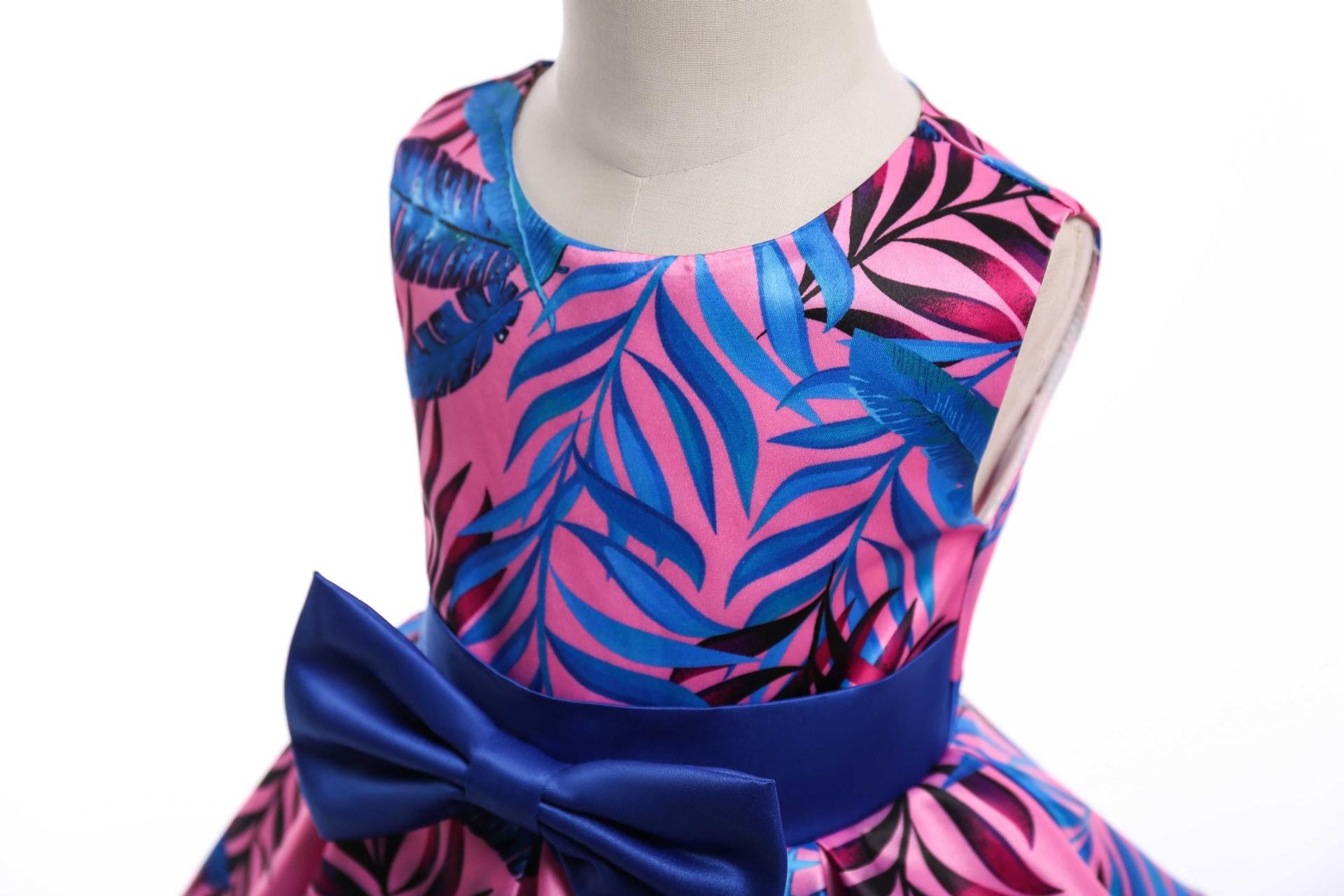 HIBYHOBY 2018 New Girl Formalne Wesele Sukienki Dzieci Princess - Ubrania dziecięce - Zdjęcie 4
