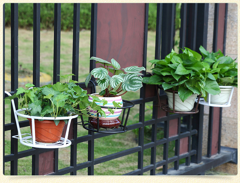 European Balcony Indoor Flower Pot Holder Garden Flower