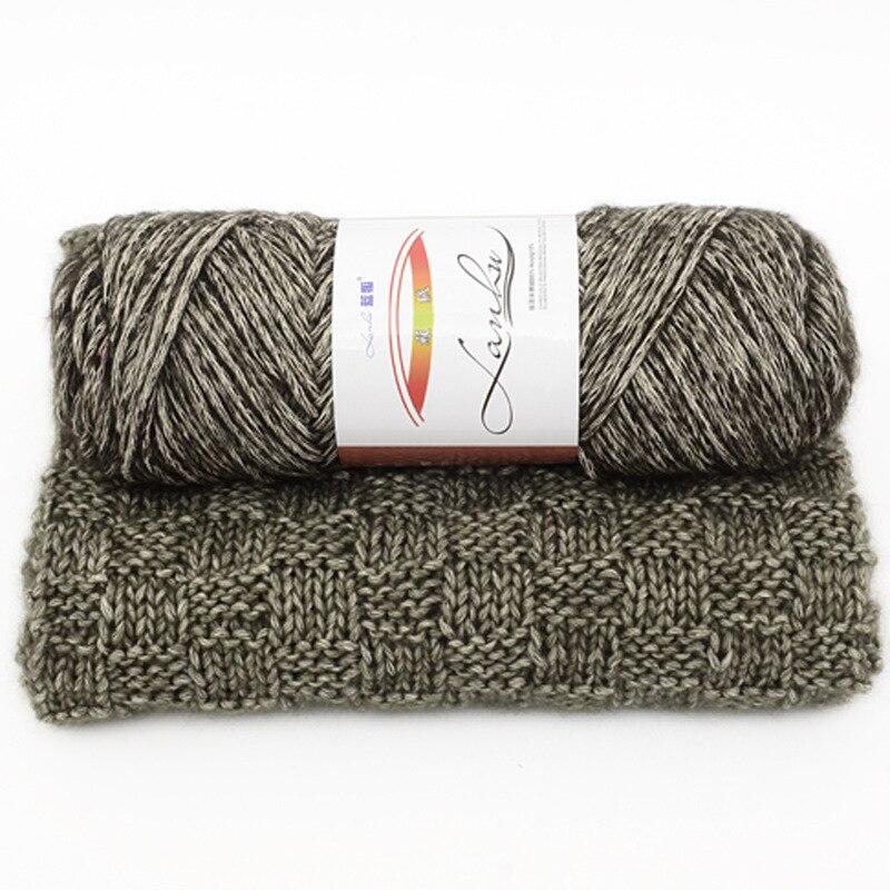 Baby Seide Baumwolle Garn Für Handstricken Häkeln Dicke
