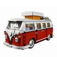 Legoing Technic Series Classical T1 Camper Van 1354Pcs Models & Building Blocks Toys For Children gift for kids Technic Legoing