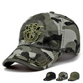 Fashion New Outdoor Camo baseball hats Men Casual Top Quality Cotton Peaked Caps 55-59cm 20 Colors