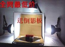Caixa de luz foto fundo titular Acessórios caixa de cosméticos mini 40 cm luz fotografia conjunto studier simples pequeno portátil cd50