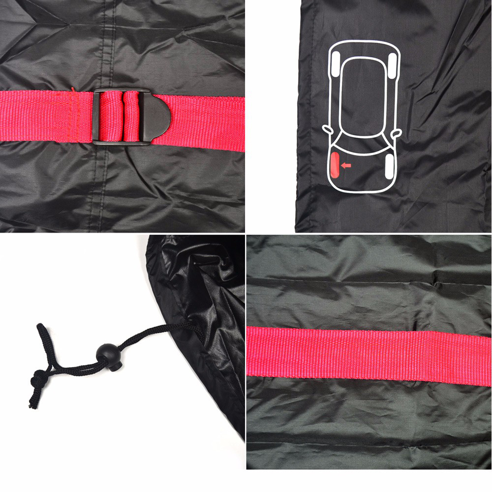 Image 5 - 4Pcs Car Spare Tyre Cover Garage Tire Case Auto Vehicle Automobile Tire Accessories Summer Winter Protector Tire Storage BagTire Accessories   -