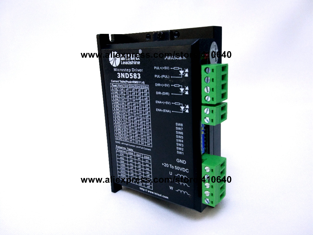 цена на Leadshine 3ND583 3 Phase Analog Stepper Drive Max 50 VDC / 8.3A suitable for fit nema 23 and 34 stepper motor