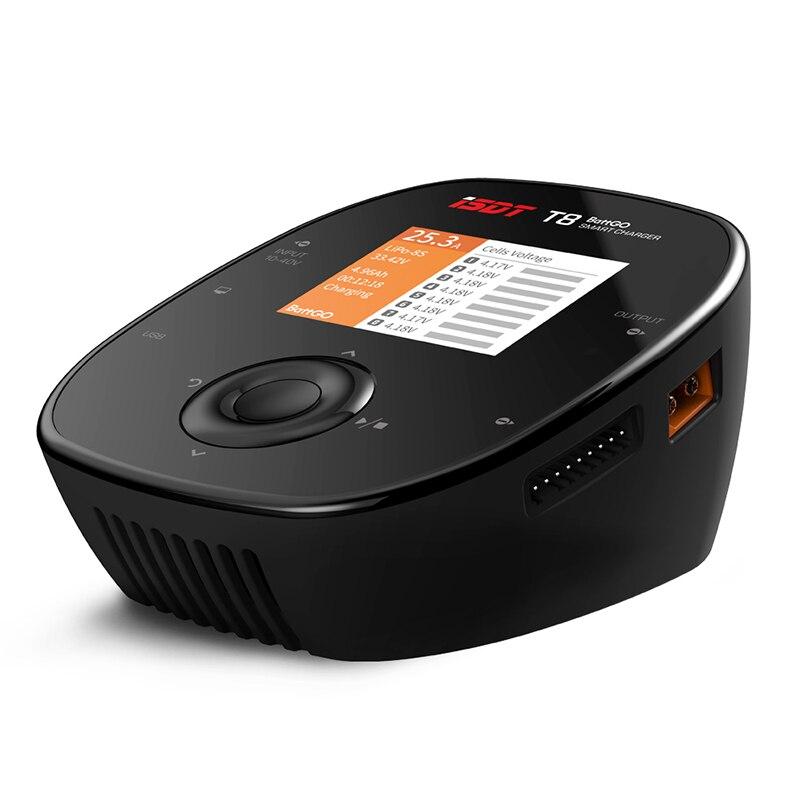 Chargeur intelligent d'équilibre de batterie d'isdt T8 BattGo 1000 W 30A pour 1-8 S Lipo batterie RC jouets pièces