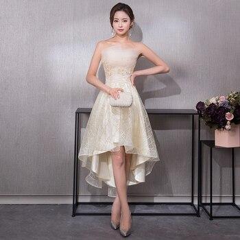 09e076613cd Новинка 2019 года элегантное вечернее платье с открытыми плечами для ...