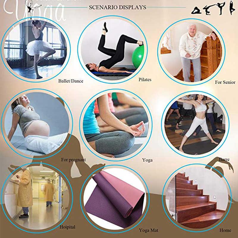 1 para kobiety joga skarpety Quick-Dry antypoślizgowe silikonowe siłownia Pilates skarpetki baletowe fitness sport skarpetki bawełniane oddychająca elastyczność