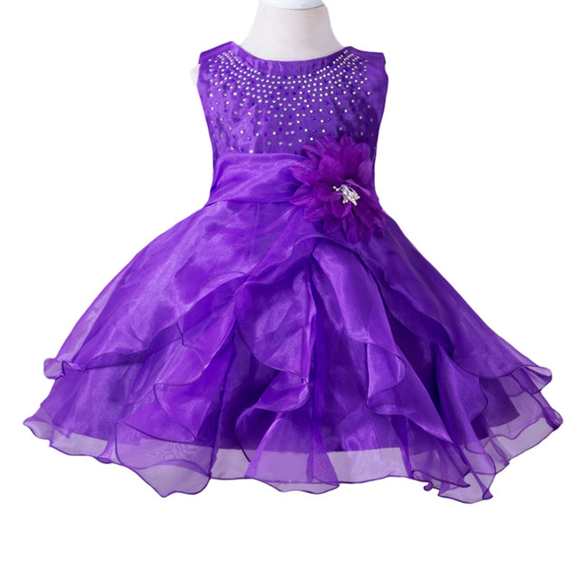 4f1fd89a20 2017 New Sequins Girls Tutu Dresses For Baptism Birthday Christmas Costume  Baby Girl with Flower Princess Tutu Baby Dresses-in Dresses from Mother &  ...
