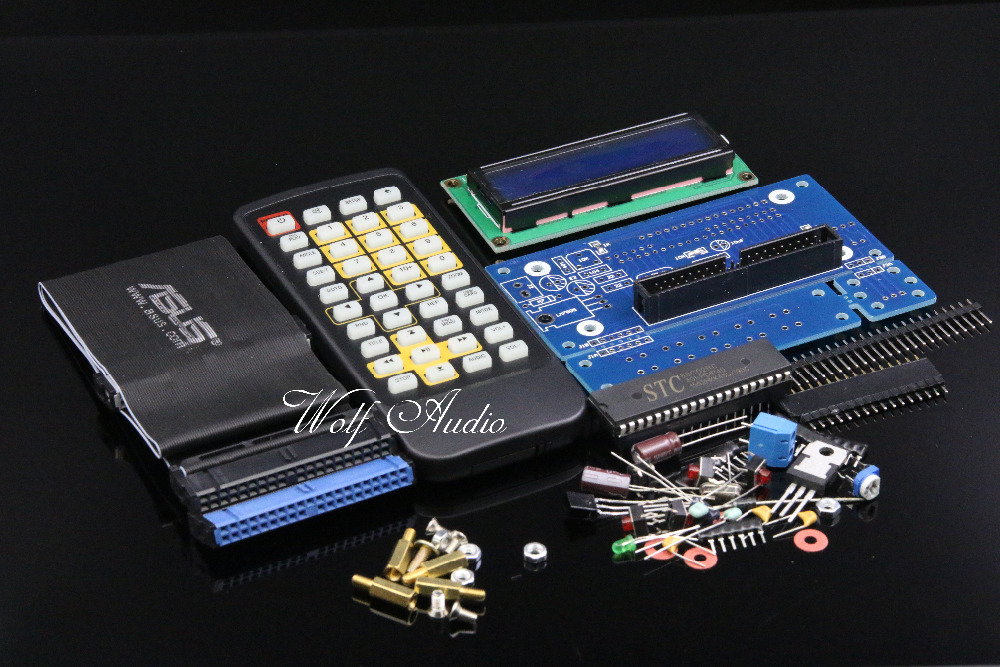 DIY CD-ROM DVD-ROM CONTROLLER KIT WITH REMOTE DIY IDE ROM Audio Player Controller Kit