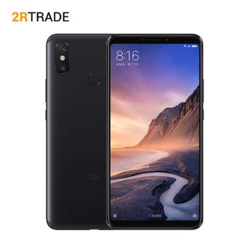 "Original Xiaomi Mi Max 3 4GB 64GB 6.9"" Full Screen Snapdragon 636 Octa Core 5500mAh QC 3.0 12MP+5MP Dual Camera Smartphone"