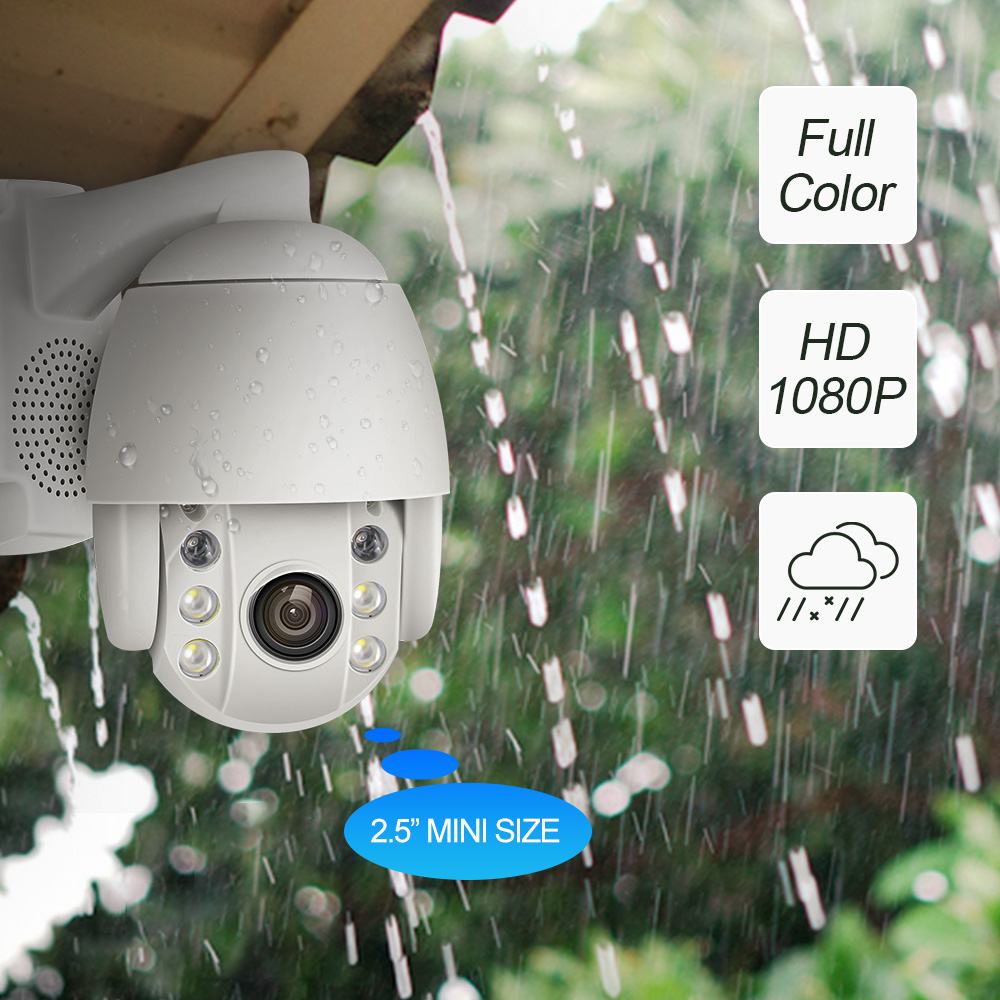 2mp full HD IP outdoor camera ipcam dome surveillance camera  wifi security cameras infrared 1080p  p2p ptz security camera