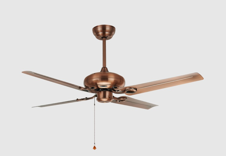 Ceiling Fans Without Lights : Inch iron lamp antique ceiling fan without light