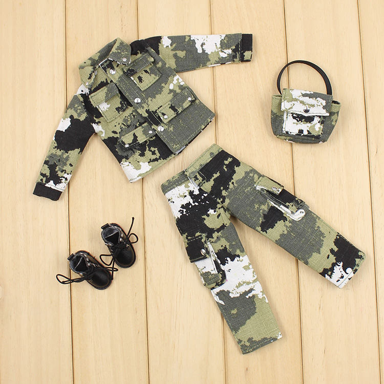 Blyth doll military uniform + waist bag doll clothes available for Blyth AZONE Licca accessories for dolls детская футболка классическая унисекс printio bart deadpool