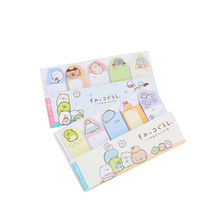 1pack/lot Japanese cartoon paper sticky notes cute animals message N times stick bookmark pocket notepad stationery