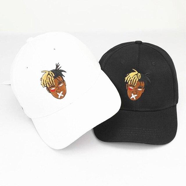 Alta Qualidade Cotton Cantor xxxtentacion Dreadlocks Cap Snapback Para Homens Mulheres Hip Hop Chapéu Pai Boné de Beisebol Osso Garros