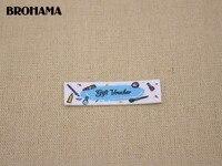 112 Rainbow Name Label Decorative Label Children S Clothing Label White Organic Cotton TB029
