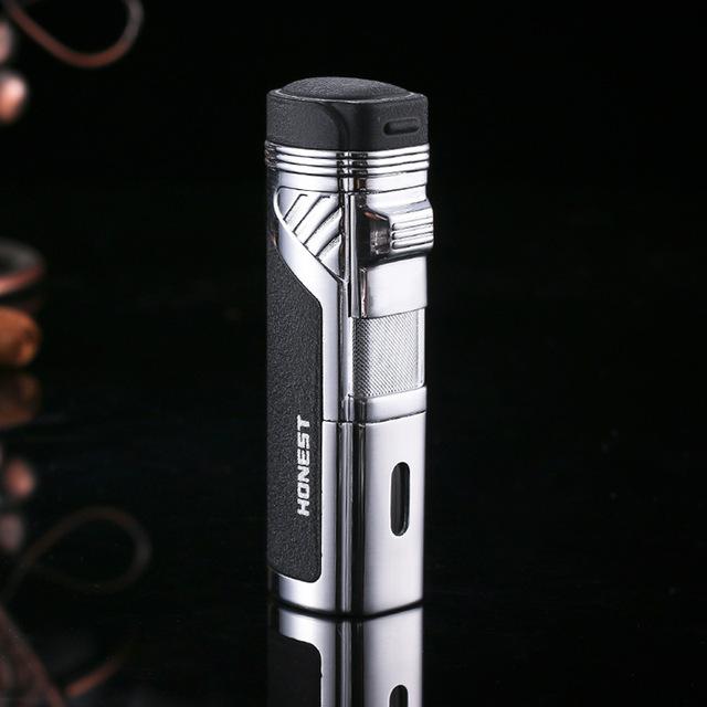 Four flame cigarette lighter