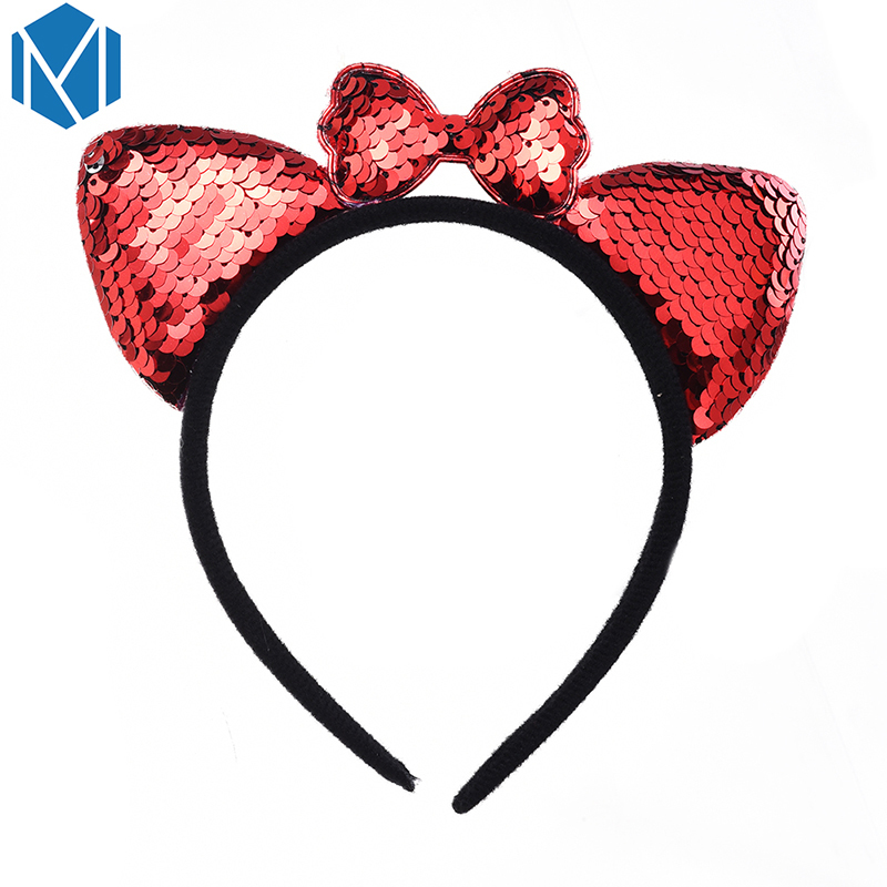 Girl's Hair Accessories Professional Sale Mism Cute Flower Lace Bunny Hairband Women Korean Headband Sexy Ears Hairband Girls Female Party Prom Hairpins Hair Accessories