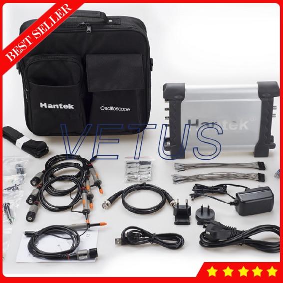 DSO3254A Automotive signal generator with Digital Oscilloscope USB PC Automotive Osciloscopio Portable Hantek 250MHz 4CH