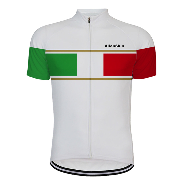 64b0d8ab6 alienskin 2019 cycling jersey white italy pro team clothing white bike  clothing ropa ciclismo maillot riding team classic 6547